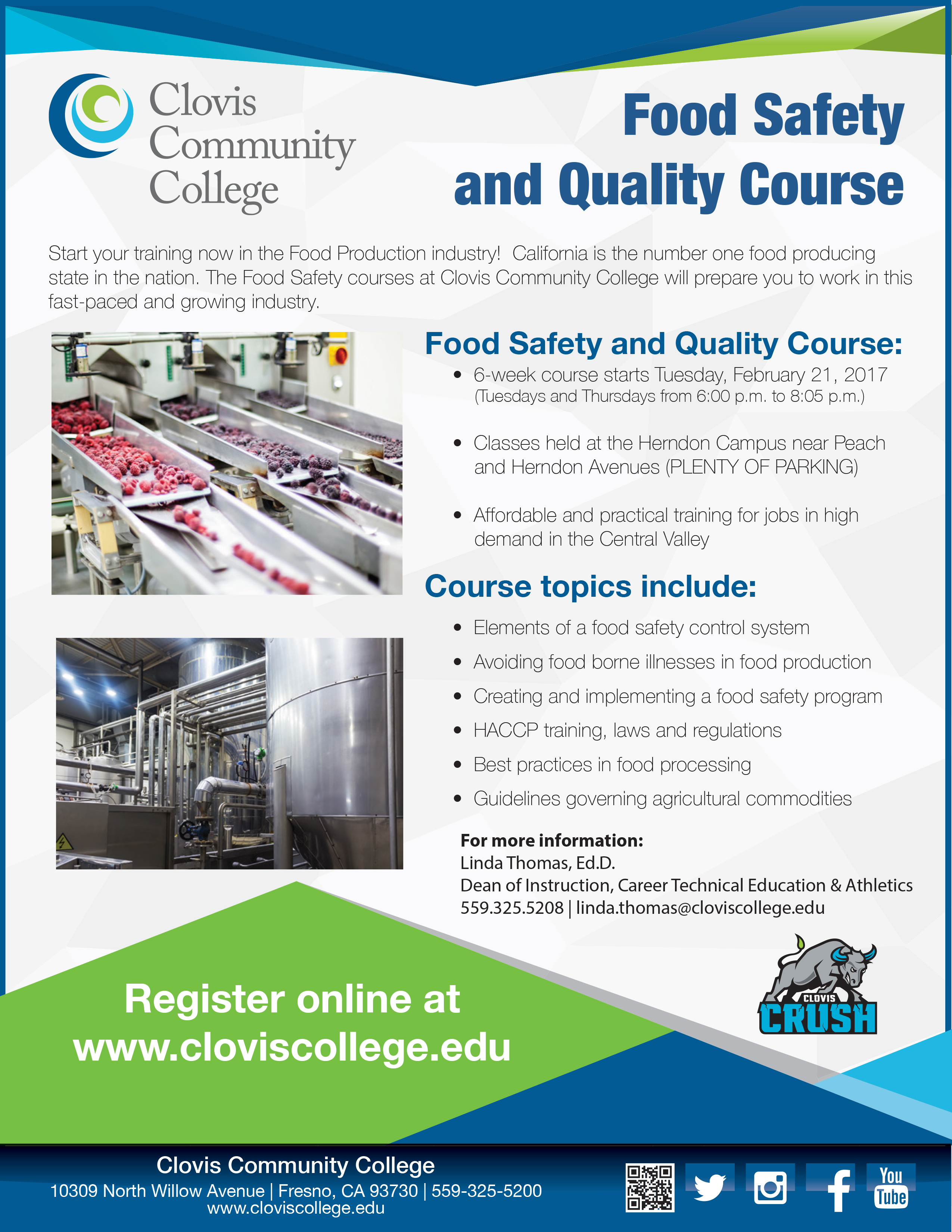 Food Safety & Quality Course – Central Valley AgPlus